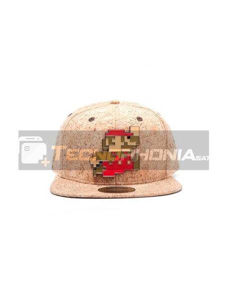 Gorra Nintendo - Mario Bros Pixel logo
