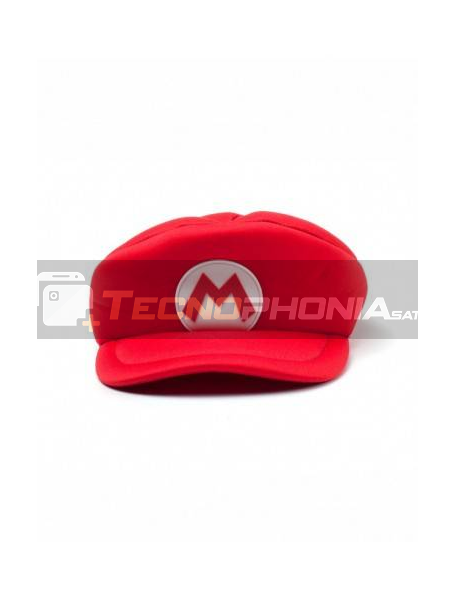 Gorra Nintendo - Super Mario maquinista roja niño