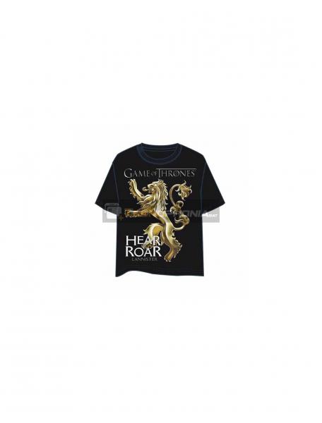 Camiseta Juego de Tronos - Hear Roar CS3565 talla L