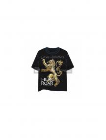 Camiseta Juego de Tronos - Hear Roar CS3565 talla XL