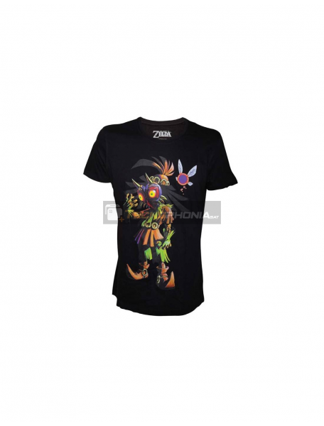 Camiseta Zelda - Majoras Mask Talla M