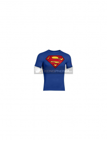Camiseta Superman Talla S azul
