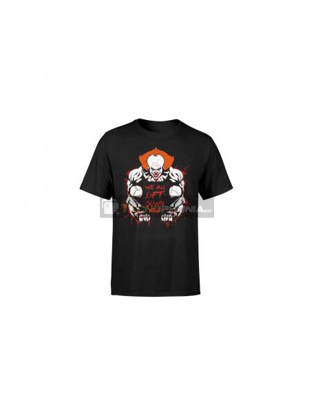 Camiseta Payaso It negra Talla XL