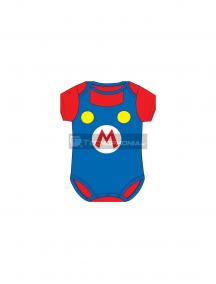 Body bebé Super Mario Bros - Logo 18 meses