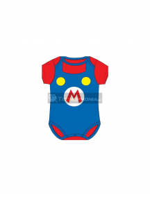 Body bebé Super Mario Bros - Logo 23 meses