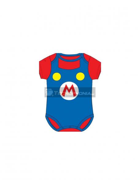 Body bebé Super Mario Bros - Logo 23 meses