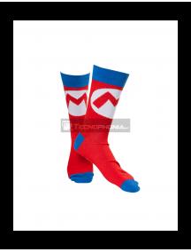 Calcetines Nintendo - Mario Logo talla 39-42