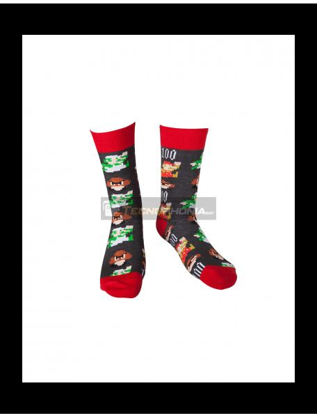 Calcetines Nintendo - Mario Pixel Art 43-46