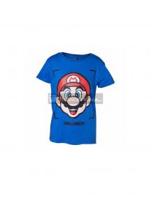 Camiseta Super Mario niño talla 158-164 azul