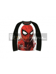 Camiseta manga larga niño Spiderman T.104 4 años