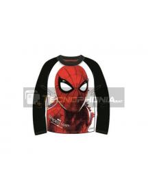 Camiseta manga larga niño Spider-man T.140 10 años