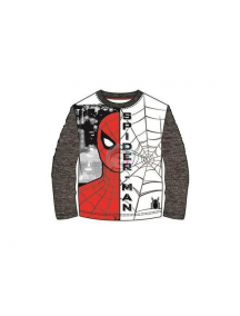 Camiseta manga larga niño Spiderman cara - tela de araña T.128 8 años