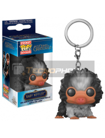 Llavero Pocket POP! Fantastic Beasts 2 The Crimes of Grindelwald Baby Niffler Black White
