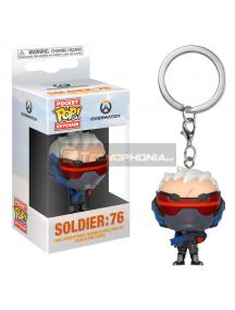 Llavero Pocket POP! Overwatch Soldier 76