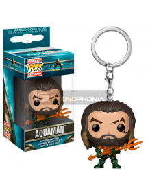 Llavero Pocket POP! DC Comics Aquaman Arthur Curry in Hero Suit