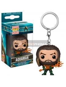 Llavero Pocket POP! DC Comics Aquaman Arthur Curry in Hero Suit