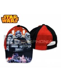 Gorra niño Star Wars negra - roja