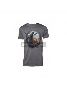 Camiseta Assassin's Creed gris Talla S