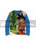 Camiseta niño manga larga DragonBall Z azul T10