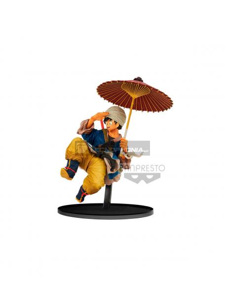 Figura Banpresto Dragon Ball Goku Sombrilla 18 Cm