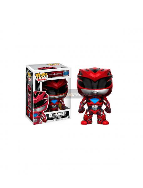 Figura Funko POP 400 Power Ranger rojo