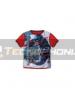 Camiseta niño Capitán América roja Talla 10