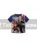 Camiseta niño Capitán América azul Talla 10