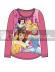 Camiseta niña manga larga Princesas Disney Talla 8