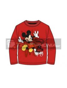 Camiseta manga larga niño Mickey - Ahhh! Talla 8