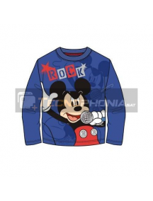 Camiseta manga larga niño Mickey - Rock Talla 6