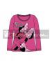 Camiseta manga larga niña Minnie Mouse rosa Talla 8