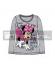 Camiseta manga larga niña Minnie Mouse gris Talla 6