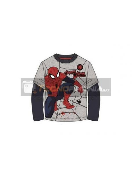 Camiseta manga larga niño Spider-man - Super Hero Talla 8