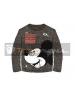 Camiseta manga larga niño Mickey - Awesome gris Talla 4