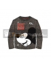Camiseta manga larga niño Mickey - Awesome gris Talla 5