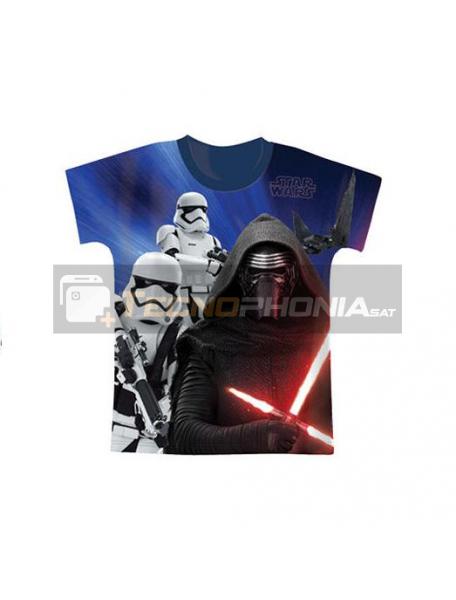 Camiseta niño manga corta Star Wars - Kylo Ren Talla 10