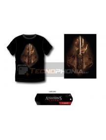 Camiseta Assassin's Creed - Mano negra Talla S