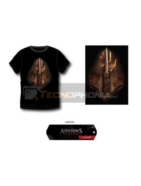 Camiseta Assassin's Creed - Mano negra Talla XL