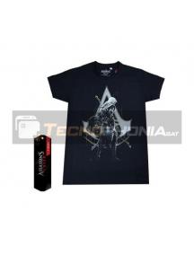 Camiseta Assassin's Creed negra Talla S