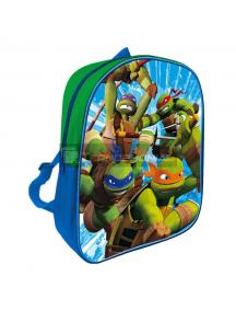 Mochila Tortugas Ninja azul - verde