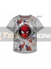 Camiseta niño manga corta Spider-man - cara gris 8 años 128cm