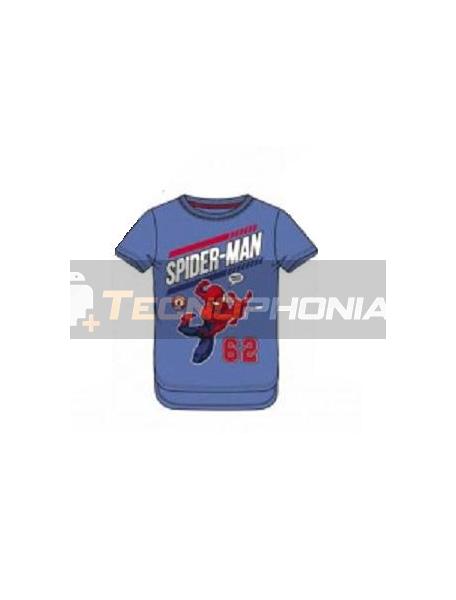 Camiseta niño manga corta Spider-man - 62 6 años 116cm