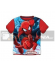 Camiseta niño manga corta Spiderman roja 8 años