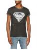 Camiseta adulto manga corta Superman gris Talla XL