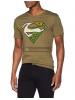 Camiseta adulto manga corta Superman verde Talla XL