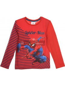 Camiseta manga larga niño Spider-man roja RH1045 8 años