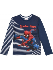 Camiseta manga larga niño Spiderman azul RH1045 3 años