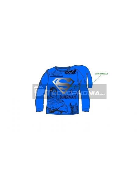 Camiseta niño manga larga Superman - This looks like a job for.. RH1383 6 años