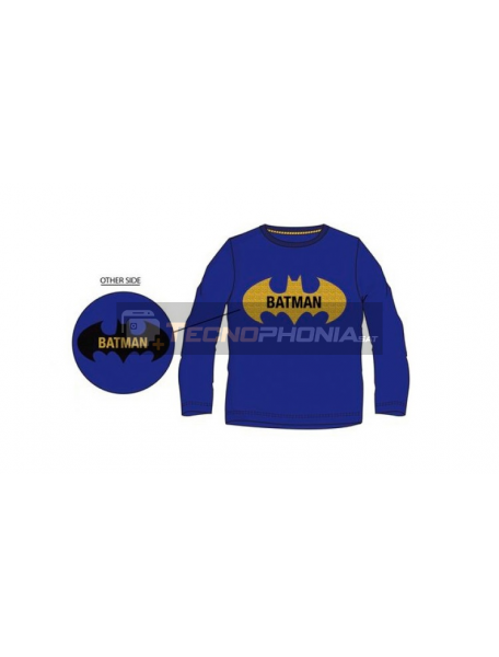 Camiseta manga larga niño Batman lentejuelas reversibles azul 3 años RH1252
