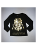 Camiseta niño manga larga Star Wars negra 8 años RH1147